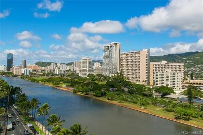 Honolulu Condo/Townhouse For Sale: 2211 Ala Wai Boulevard #1412