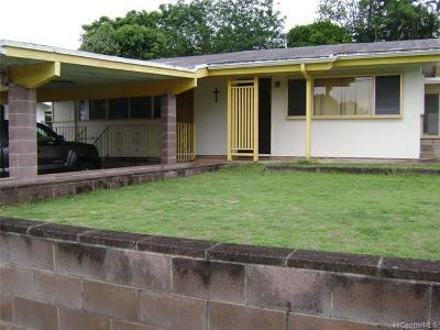 Kailua Single Family Home For Sale: 1365 Manu Aloha Street