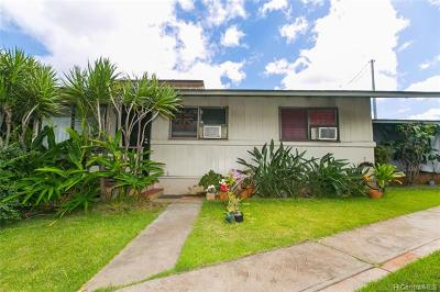 Single Family Home For Sale: 4041 Waialae Avenue