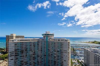 Honolulu Condo/Townhouse For Sale: 1778 Ala Moana Boulevard #3213
