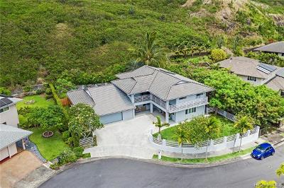Kailua Single Family Home For Sale: 1359 Kuuna Place