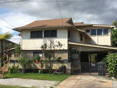 Single Family Home For Sale: 3480 Alohea Avenue