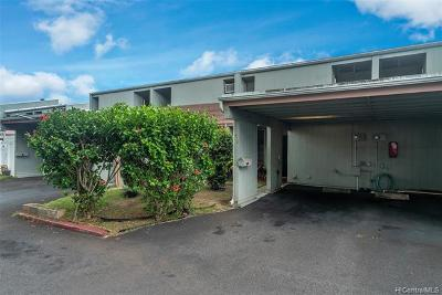 Mililani Condo/Townhouse For Sale: 95-118 Kipapa Drive #414