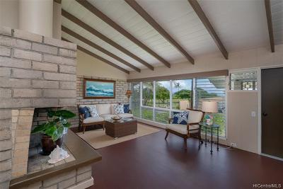 Kailua Single Family Home For Sale: 155 Kaapuni Drive