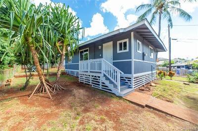 Waipahu Single Family Home For Sale: 94-1142a Limahana Street