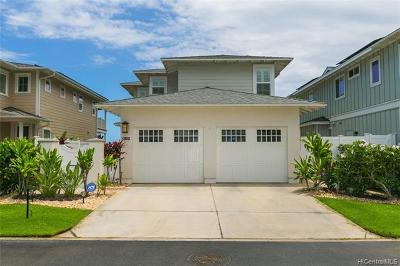 Ewa Beach Single Family Home For Sale: 91-1344 Kaikohola Street #D34