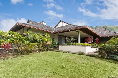 Honolulu HI Single Family Home For Sale: $1,850,000