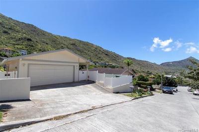 Honolulu Single Family Home For Sale: 1293 Miloiki Street