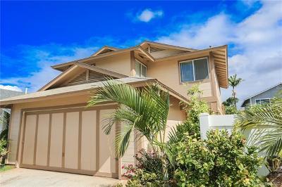 Honolulu County Single Family Home For Sale: 91-1032 Pohahawai Place