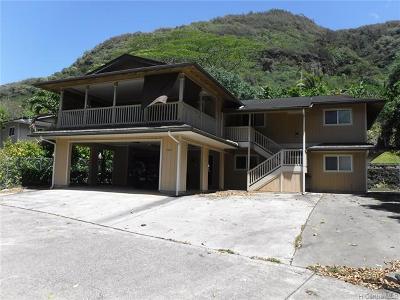 Honolulu HI Single Family Home For Sale: $905,000