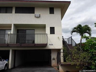 Central Oahu, Diamond Head, Ewa Plain, Hawaii Kai, Honolulu County, Kailua, Kaneohe, Leeward Coast, Makakilo, Metro Oahu, North Shore, Pearl City, Waipahu Rental For Rent: 98-436 Kaonohi Street #480