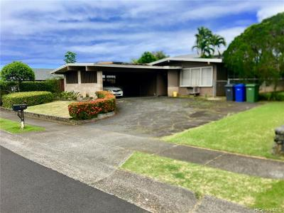 Kaneohe Single Family Home For Sale: 46-250 Heeia Street