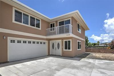 Kailua Single Family Home For Sale: 443 Kawainui Street #A