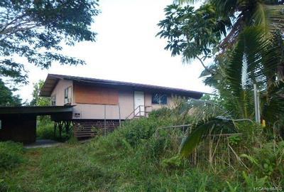 Keaau Single Family Home For Sale: 15-1865 23rd Avenue