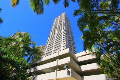 Honolulu Condo/Townhouse For Sale: 343 Hobron Lane #2703