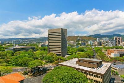 Honolulu Condo/Townhouse For Sale: 801 South Street #1525