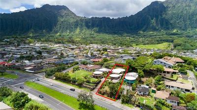 Kaneohe Single Family Home For Sale: 45-476 Kamehameha Highway