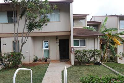Kapolei Condo/Townhouse For Sale: 92-1001 Makakilo Drive #51