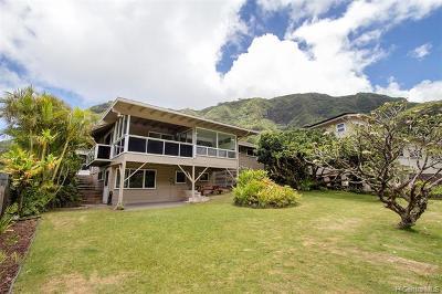 Honolulu Single Family Home For Sale: 3673 Loulu Street