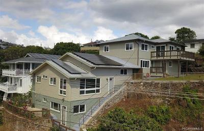 Honolulu Single Family Home For Sale: 1905 Naio Street