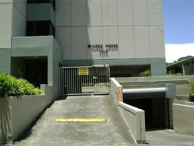 Honolulu Condo/Townhouse For Sale: 1114 Wilder Avenue #605