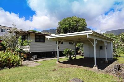 Kaneohe Single Family Home For Sale: 45-842 Anoi Road