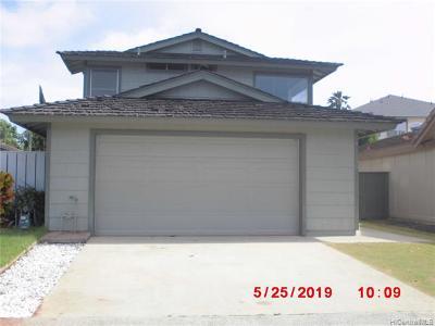 Waipahu Single Family Home For Sale: 94-1150 Polinahe Place