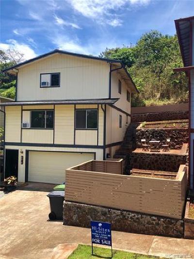 Pearl City Single Family Home For Sale: 2314 Akepa Street