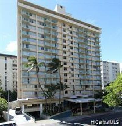 Honolulu, Kailua, Waimanalo, Honolulu, Kaneohe Condo/Townhouse For Sale: 444 Kanekapolei Street #901