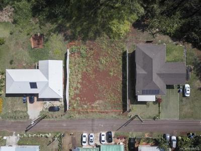 Wahiawa Single Family Home For Sale: 71-45 Kipuka Road #107