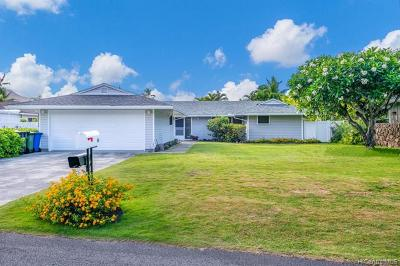 Kailua Single Family Home In Escrow Showing: 84 Laiki Place