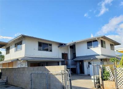 Waianae Single Family Home For Sale: 87-120 Maaloa Street