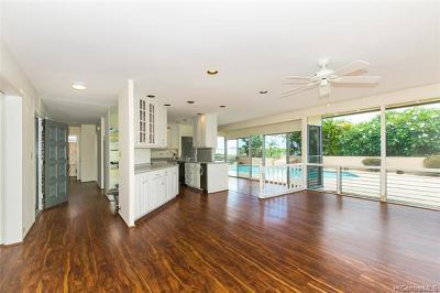 Honolulu Single Family Home For Sale: 1564 Piikea Street