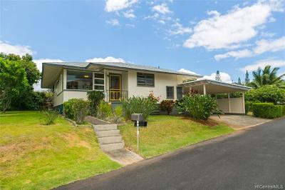 Aiea Single Family Home For Sale: 99-506 Mikioi Place