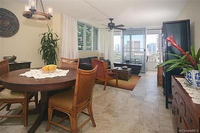 Honolulu Condo/Townhouse For Sale: 1515 Ward Avenue #106