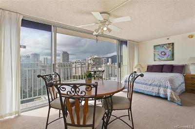 Honolulu Condo/Townhouse For Sale: 2427 Kuhio Avenue #1805