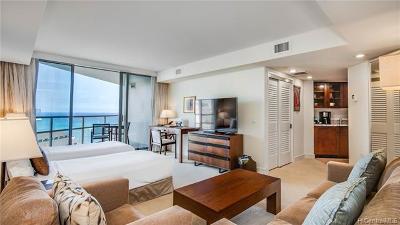Hawaii County, Honolulu County Condo/Townhouse For Sale: 223 Saratoga Road #2108