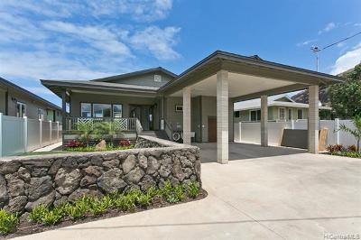Waianae Single Family Home For Sale: 87-102 Kulaaupuni Street #E