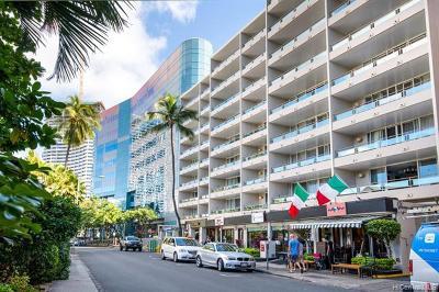 Honolulu Condo/Townhouse For Sale: 255 Beach Walk #24