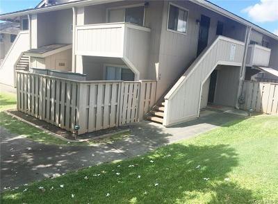 Waipahu Condo/Townhouse For Sale: 94-1068 Kaukahi Place #L1