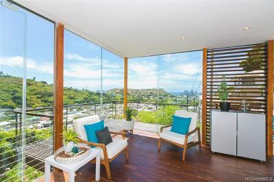 Honolulu Single Family Home For Sale: 2455 Pacific Hts Road #E