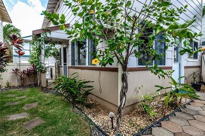 Ewa Beach Single Family Home For Sale: 91-1984 Luahoana Street #53