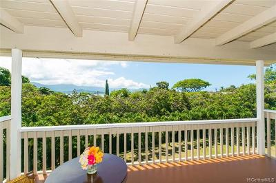 Kaneohe Condo/Townhouse For Sale: 44-140 Mui Place #Apt 3