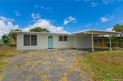 Pearl City Single Family Home For Sale: 2207 Apoepoe Street