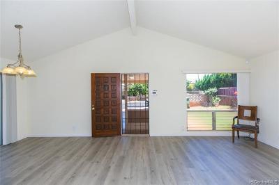 Waipahu Single Family Home For Sale: 94-186 Kaima Place