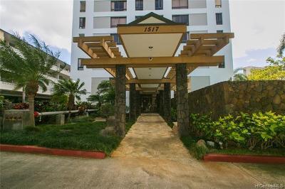 Honolulu Condo/Townhouse For Sale: 1517 Makiki Street #605