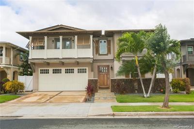 Ewa Beach Single Family Home For Sale: 91-1068 Waikapuna Street
