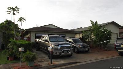 Waipahu Single Family Home For Sale: 94-479 Kuahui Street