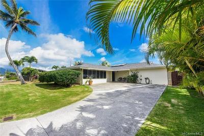 Single Family Home For Sale: 176 Aikahi Loop