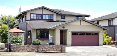 Mililani Single Family Home For Sale: 95-1007 Ahoka Street